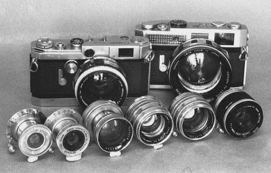 Canon 50mm Lenses 1947-1970