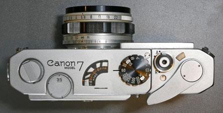 Canon 7 Rangefinder Camera 1961-1964